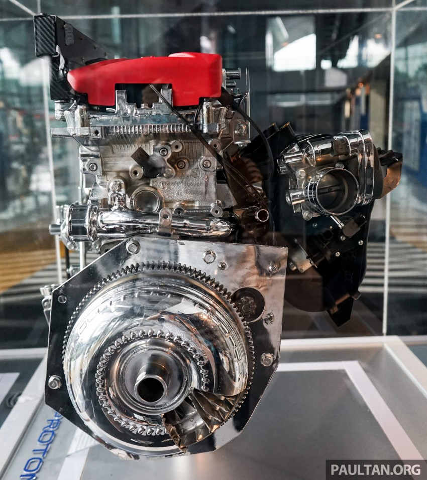 Proton new GDI and TGDI engines detailed – modular design, higher compression ratio, future-proofed Image #436116
