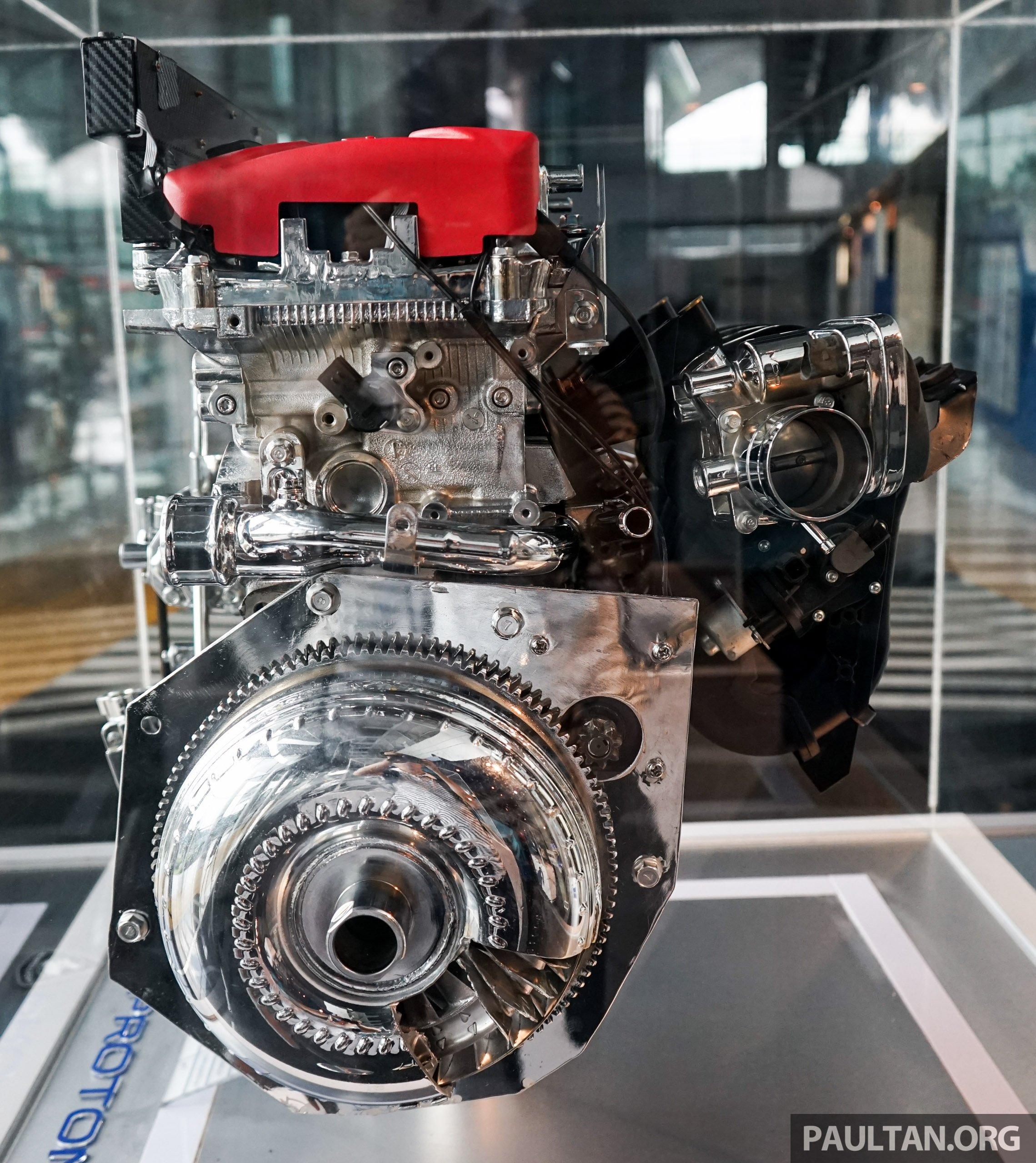 Proton Gdi Engine >> Proton new GDI and TGDI engines detailed – modular design, higher compression ratio, future ...