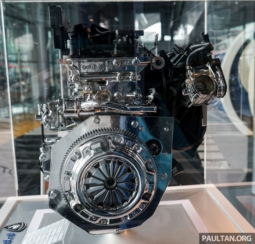 Proton new GDI and TGDI engines detailed – modular design, higher compression ratio, future-proofed Image #436117
