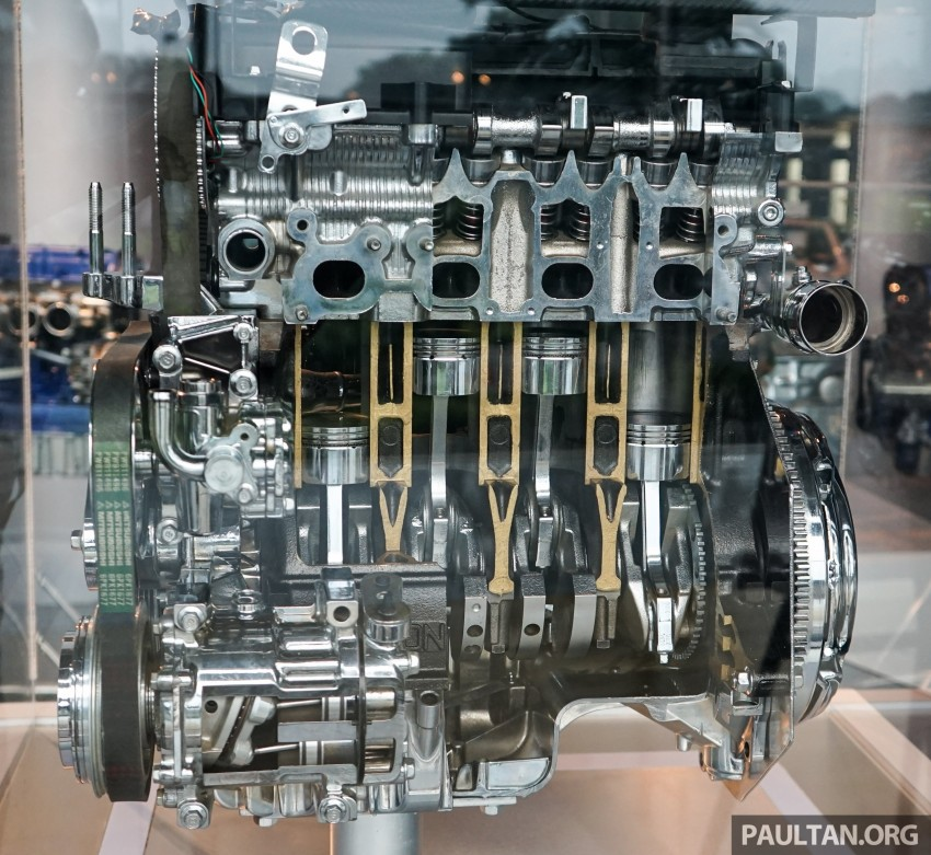 Proton new GDI and TGDI engines detailed – modular design, higher compression ratio, future-proofed Image #436119