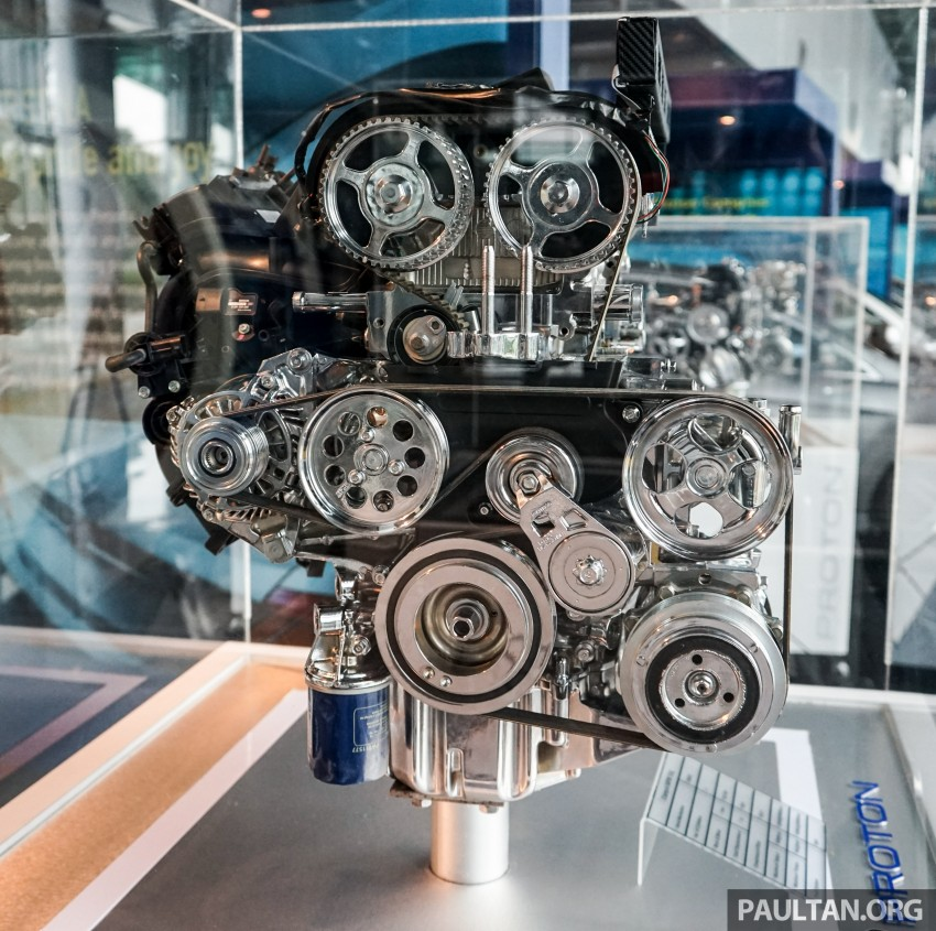 Proton new GDI and TGDI engines detailed – modular design, higher compression ratio, future-proofed Image #436120