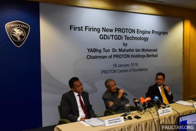 Proton GDI TGDI Press Conference 1