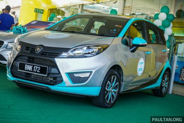 Proton Iriz Petronas Primax Edition 4