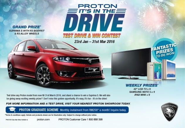 Proton It's in the drive campaign