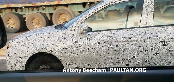 SPYSHOTS: 2016 Proton Saga gets sighted once again Image #429305