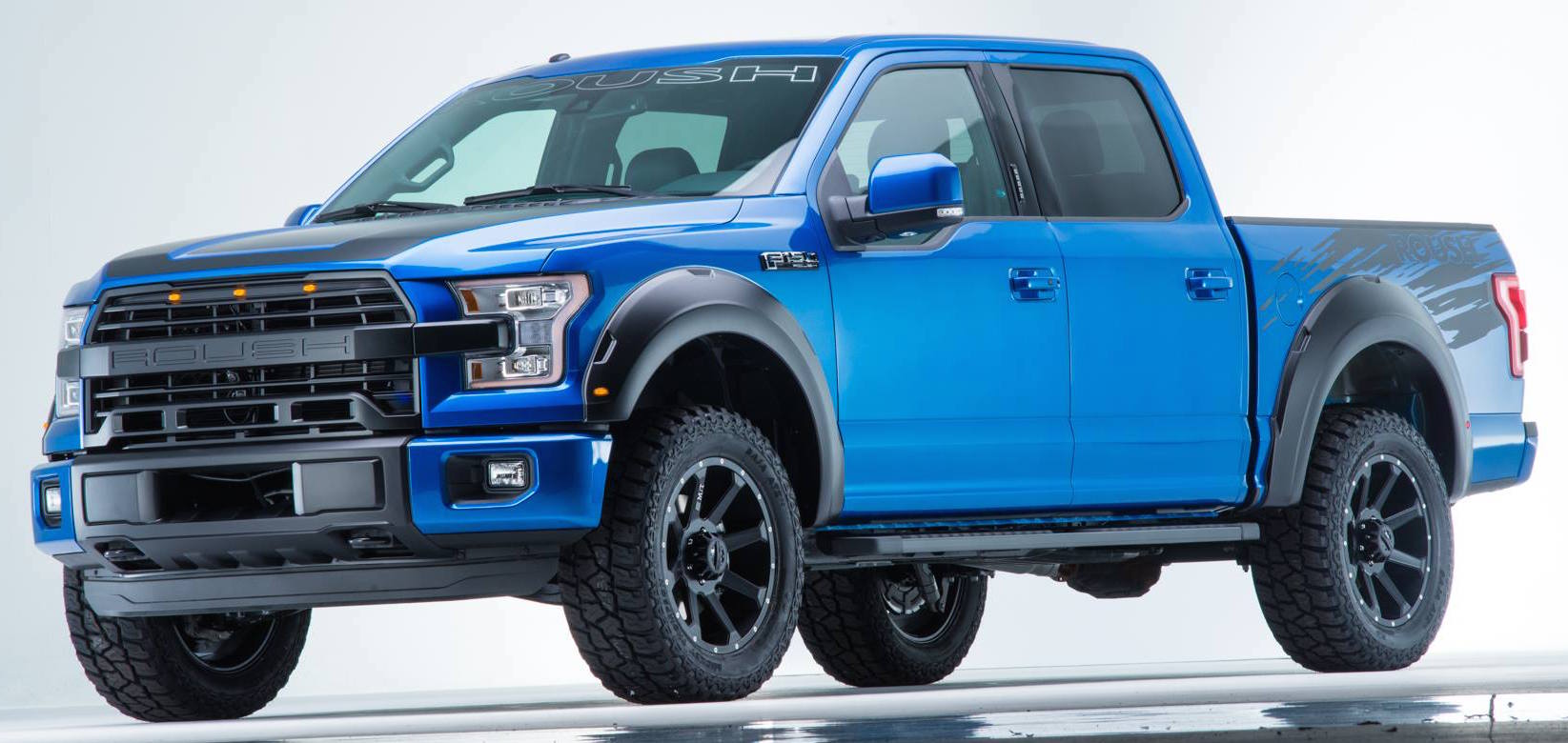 roush f 150 in blue flame metallic it s a mean ford. Black Bedroom Furniture Sets. Home Design Ideas