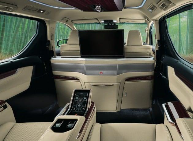 New Toyota Alphard And Vellfire Royal Lounge Variants