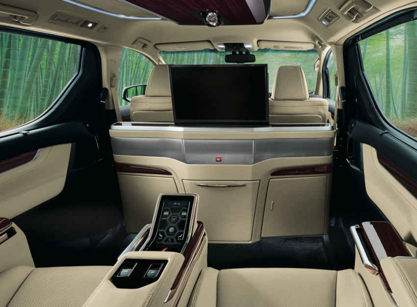 New Toyota Alphard and Vellfire Royal Lounge variants Image #428212