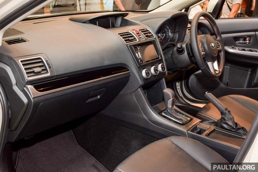 Subaru XV 2016 dilancarkan – bermula RM133k Image #431852