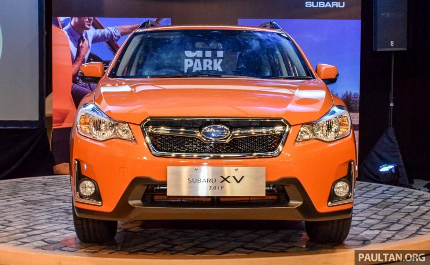Subaru XV 2016 dilancarkan – bermula RM133k Image #431897