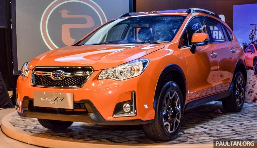 Subaru XV 2016 dilancarkan – bermula RM133k Image #431898