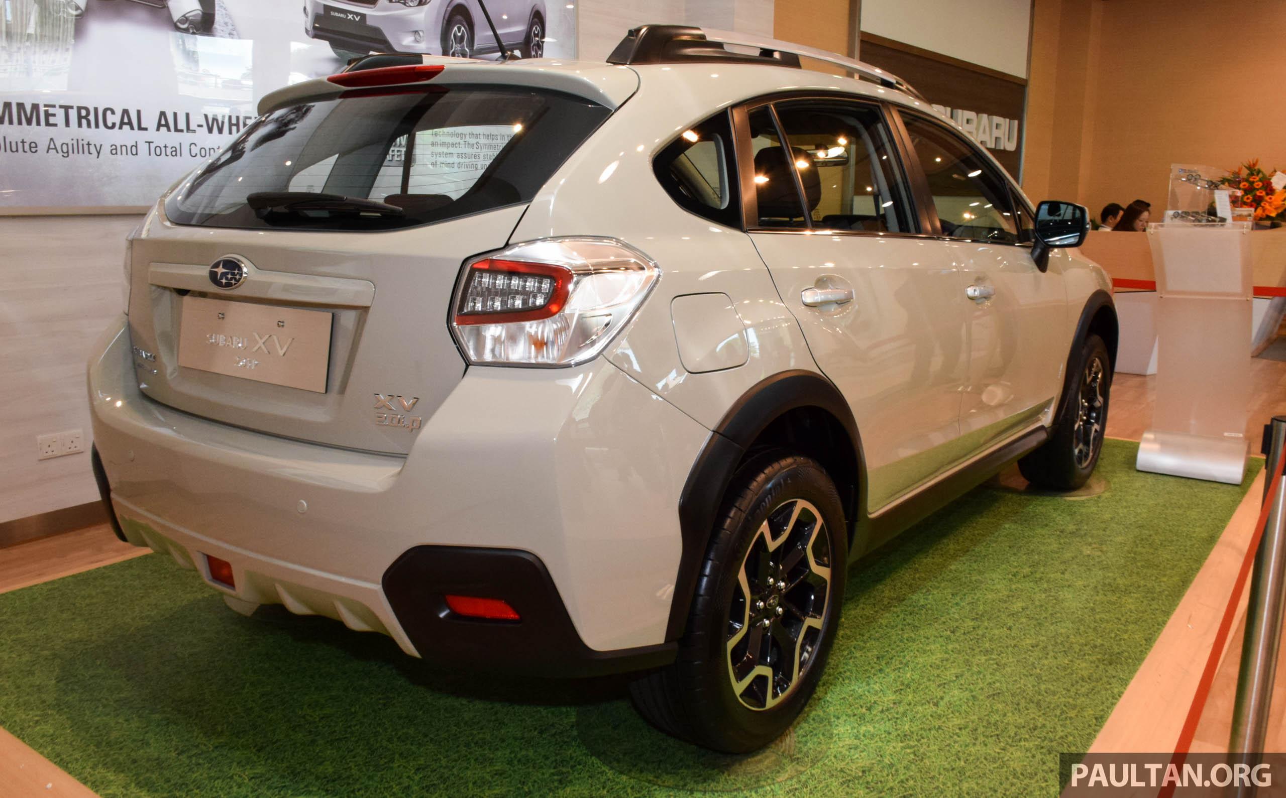 Subaru XV 2016 dilancarkan – bermula RM133k Paul Tan ...