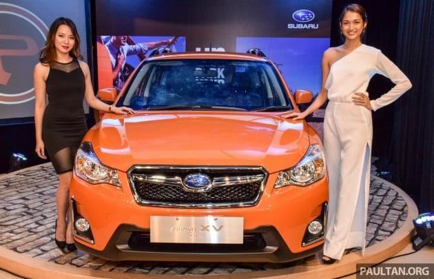 Subaru XV facelift launch-2-1