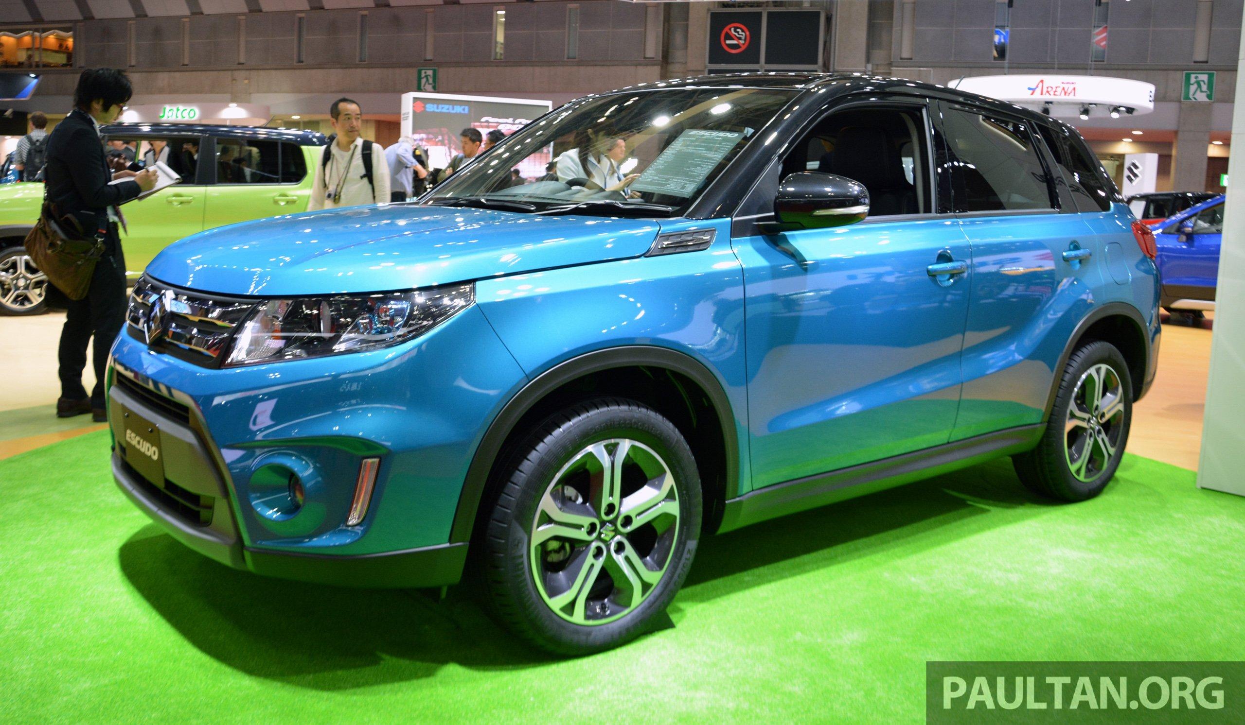 Proton Suv Rendering Based On The Suzuki Vitara Image