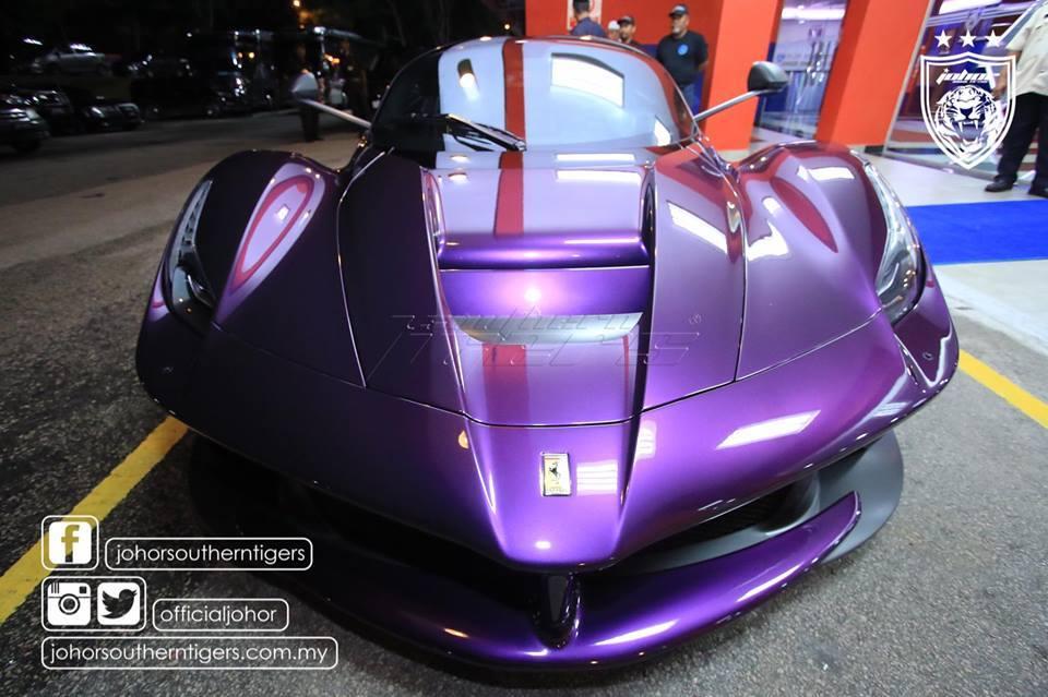 VIDEO: TMJ's purple LaFerrari starts up, plus TPJ's ...