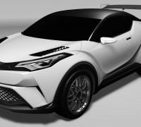 Toyota C-HR Gazoo Racing Nurburgring-01