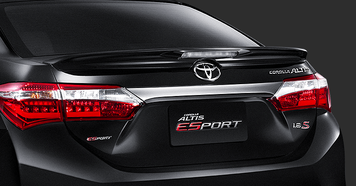 Toyota Corolla Altis Updated For The Thai Market Esport