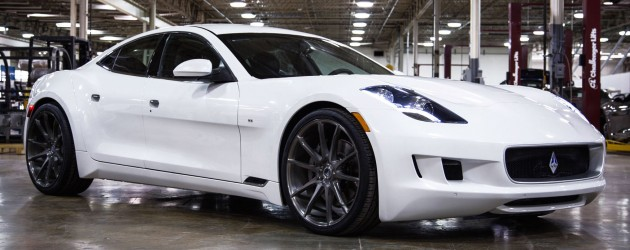 Vlf Automotive Has Come Up With An Updated Fisker Karma The Car Now Known As Destino V8 Is On Show At 2016 North American International Auto