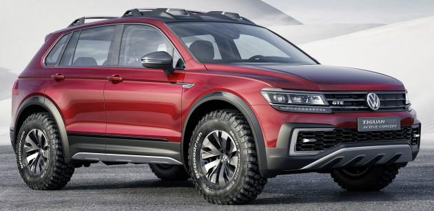 Volkswagen Tiguan GTE Active Concept 1