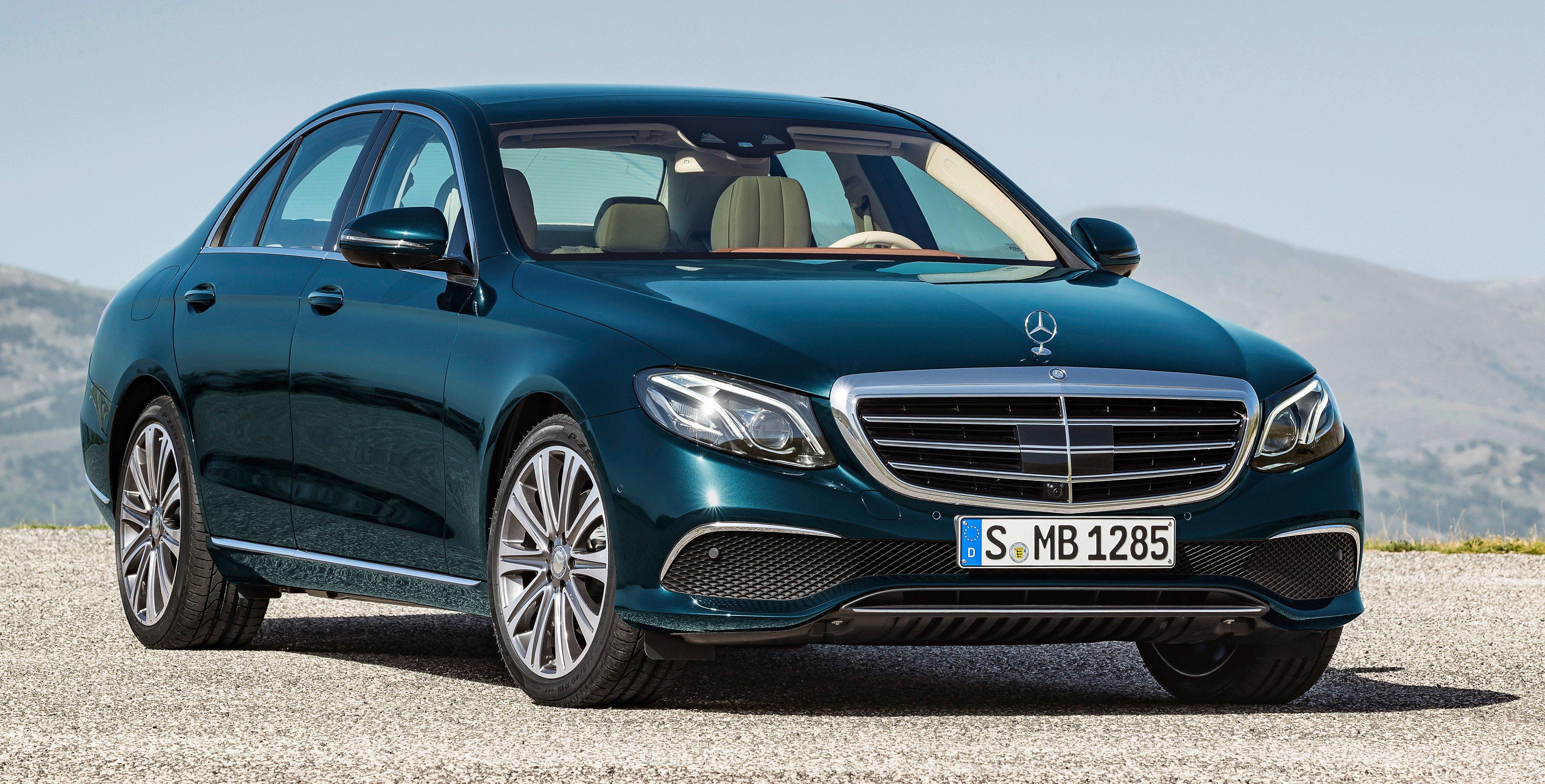W213 mercedes benz e class full details pics video for Mercedes benz star motors