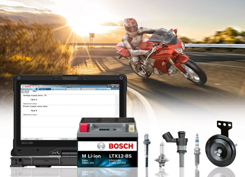 Bosch spins off motorcycle division into new company – 2016 debut for cost-effective ABS10 braking system Image #435856