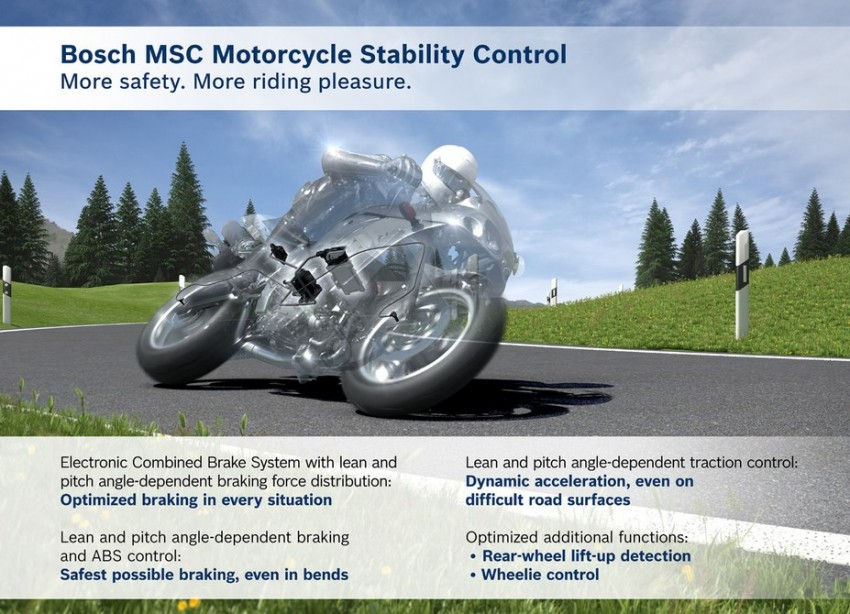 Bosch spins off motorcycle division into new company – 2016 debut for cost-effective ABS10 braking system Image #435857