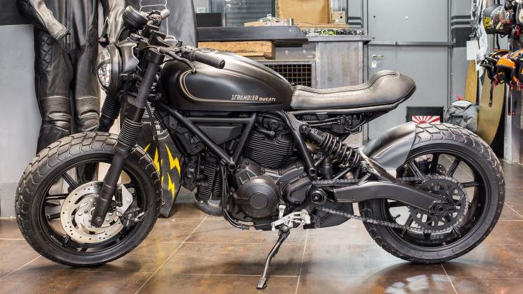Souvent Ducati shows Scrambler Sixty2 specials at Verona Image 434359 GH58