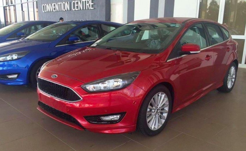 C346 Ford Focus facelift – 1.5L EcoBoost hatch and sedan variants sighted in Malaysia, launching soon? Image #425678