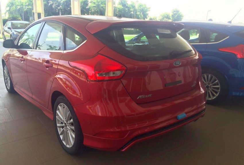 C346 Ford Focus facelift – 1.5L EcoBoost hatch and sedan variants sighted in Malaysia, launching soon? Image #425673