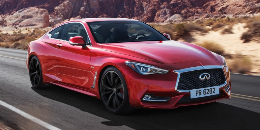 2017 Infiniti Q60 coupe finally goes live in Detroit with two VR 3.0L twin-turbo V6 engines – 300 hp/400 hp Image #427478