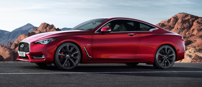2017 Infiniti Q60 coupe finally goes live in Detroit with two VR 3.0L twin-turbo V6 engines – 300 hp/400 hp Image #427479