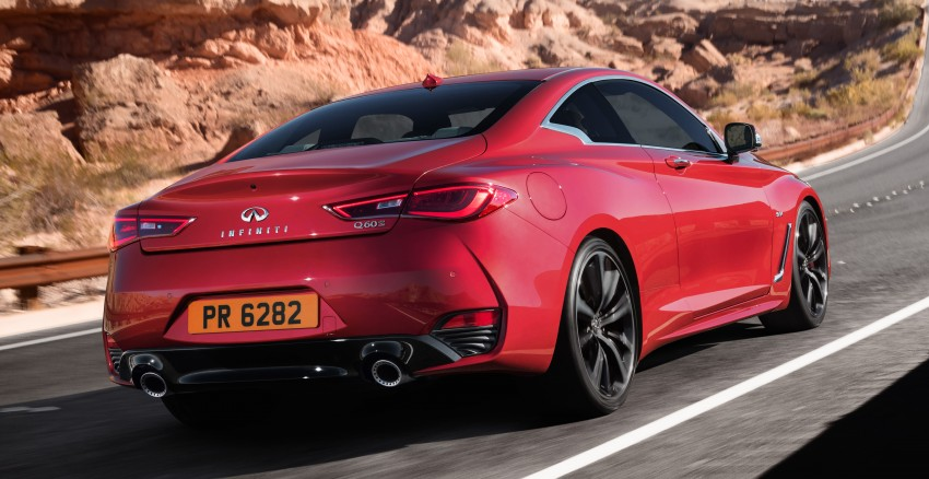 2017 Infiniti Q60 coupe finally goes live in Detroit with two VR 3.0L twin-turbo V6 engines – 300 hp/400 hp Image #427562