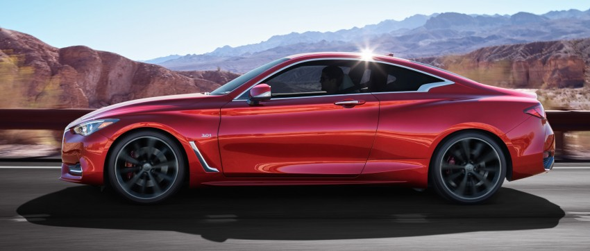 2017 Infiniti Q60 coupe finally goes live in Detroit with two VR 3.0L twin-turbo V6 engines – 300 hp/400 hp Image #427481