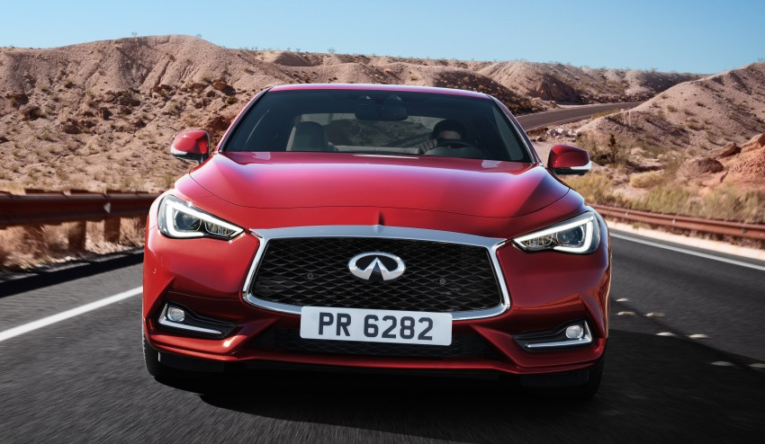 2017 Infiniti Q60 coupe finally goes live in Detroit with two VR 3.0L twin-turbo V6 engines – 300 hp/400 hp Image #427482