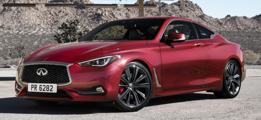 2017 Infiniti Q60 coupe finally goes live in Detroit with two VR 3.0L twin-turbo V6 engines – 300 hp/400 hp Image #427561