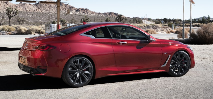 2017 Infiniti Q60 coupe finally goes live in Detroit with two VR 3.0L twin-turbo V6 engines – 300 hp/400 hp Image #427484