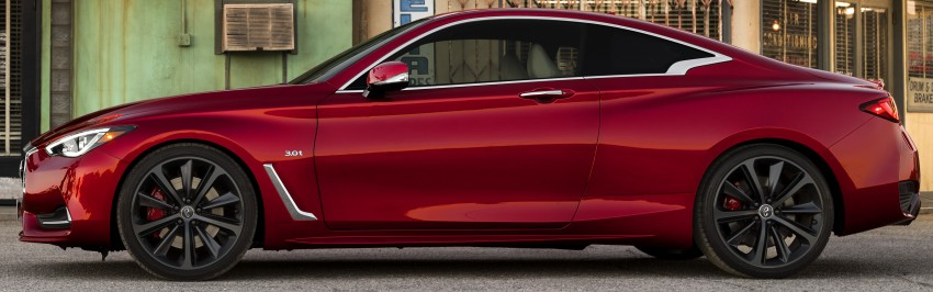 2017 Infiniti Q60 coupe finally goes live in Detroit with two VR 3.0L twin-turbo V6 engines – 300 hp/400 hp Image #427485
