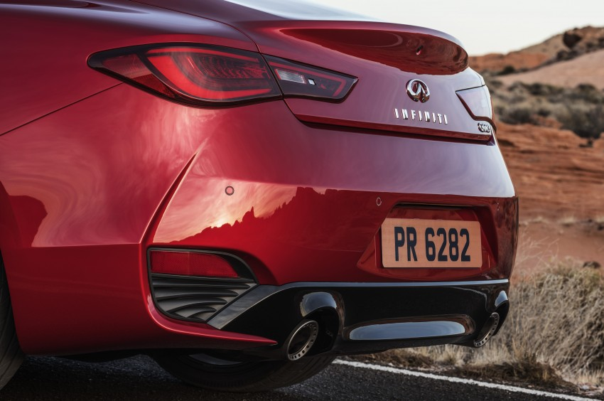 2017 Infiniti Q60 coupe finally goes live in Detroit with two VR 3.0L twin-turbo V6 engines – 300 hp/400 hp Image #427486
