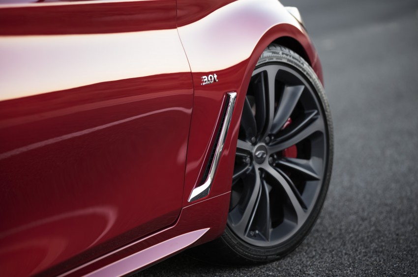 2017 Infiniti Q60 coupe finally goes live in Detroit with two VR 3.0L twin-turbo V6 engines – 300 hp/400 hp Image #427487