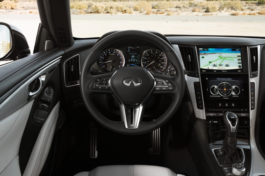 2017 Infiniti Q60 coupe finally goes live in Detroit with two VR 3.0L twin-turbo V6 engines – 300 hp/400 hp Image #427489