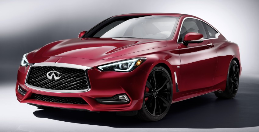 2017 Infiniti Q60 coupe finally goes live in Detroit with two VR 3.0L twin-turbo V6 engines – 300 hp/400 hp Image #427491