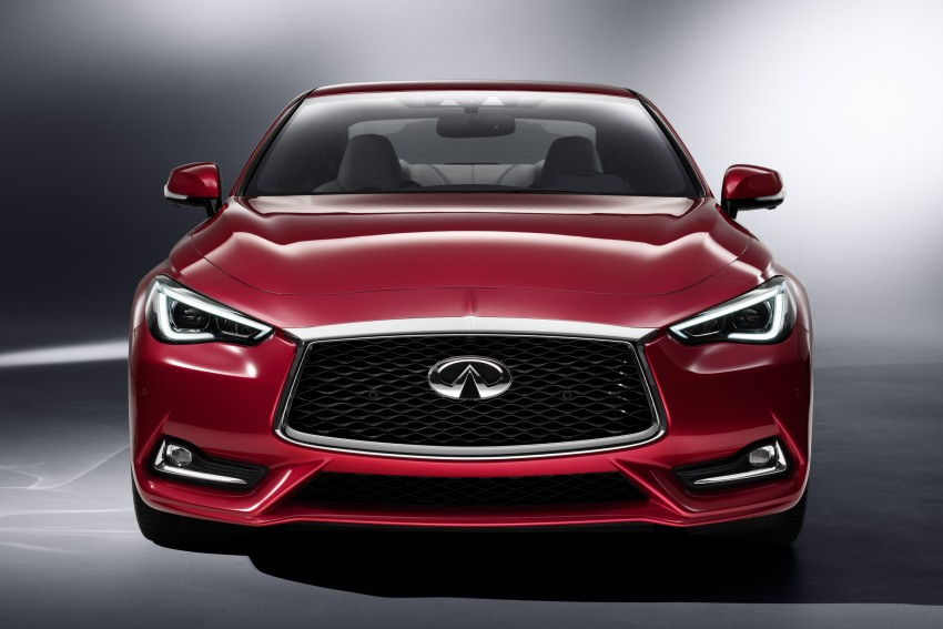 2017 Infiniti Q60 coupe finally goes live in Detroit with two VR 3.0L twin-turbo V6 engines – 300 hp/400 hp Image #427492