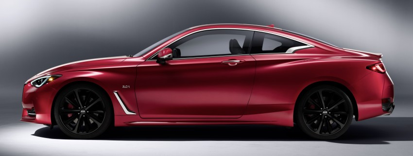 2017 Infiniti Q60 coupe finally goes live in Detroit with two VR 3.0L twin-turbo V6 engines – 300 hp/400 hp Image #427493