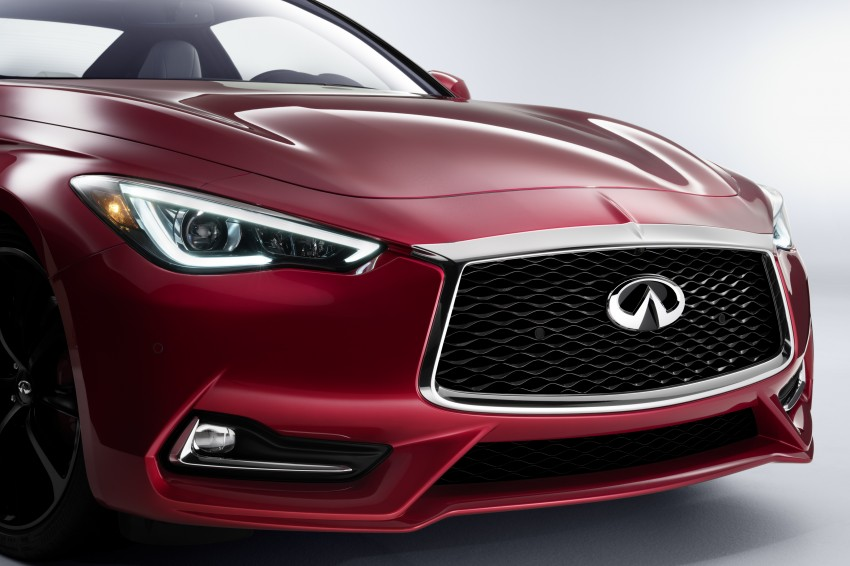 2017 Infiniti Q60 coupe finally goes live in Detroit with two VR 3.0L twin-turbo V6 engines – 300 hp/400 hp Image #427494