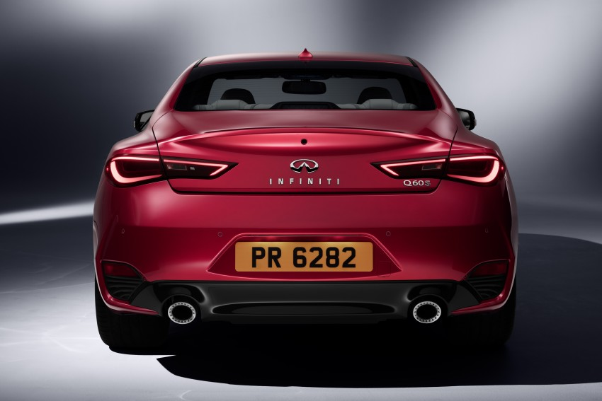 2017 Infiniti Q60 coupe finally goes live in Detroit with two VR 3.0L twin-turbo V6 engines – 300 hp/400 hp Image #427496