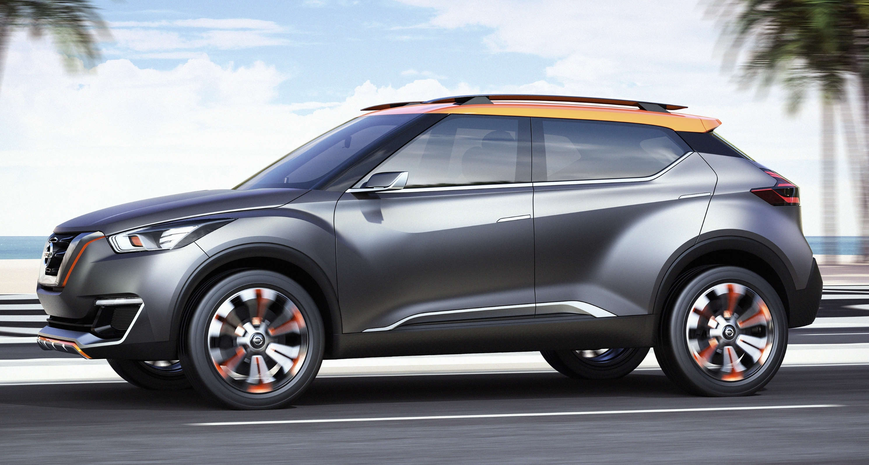 Nissan Kicks – new global crossover to debut this year Image 424604