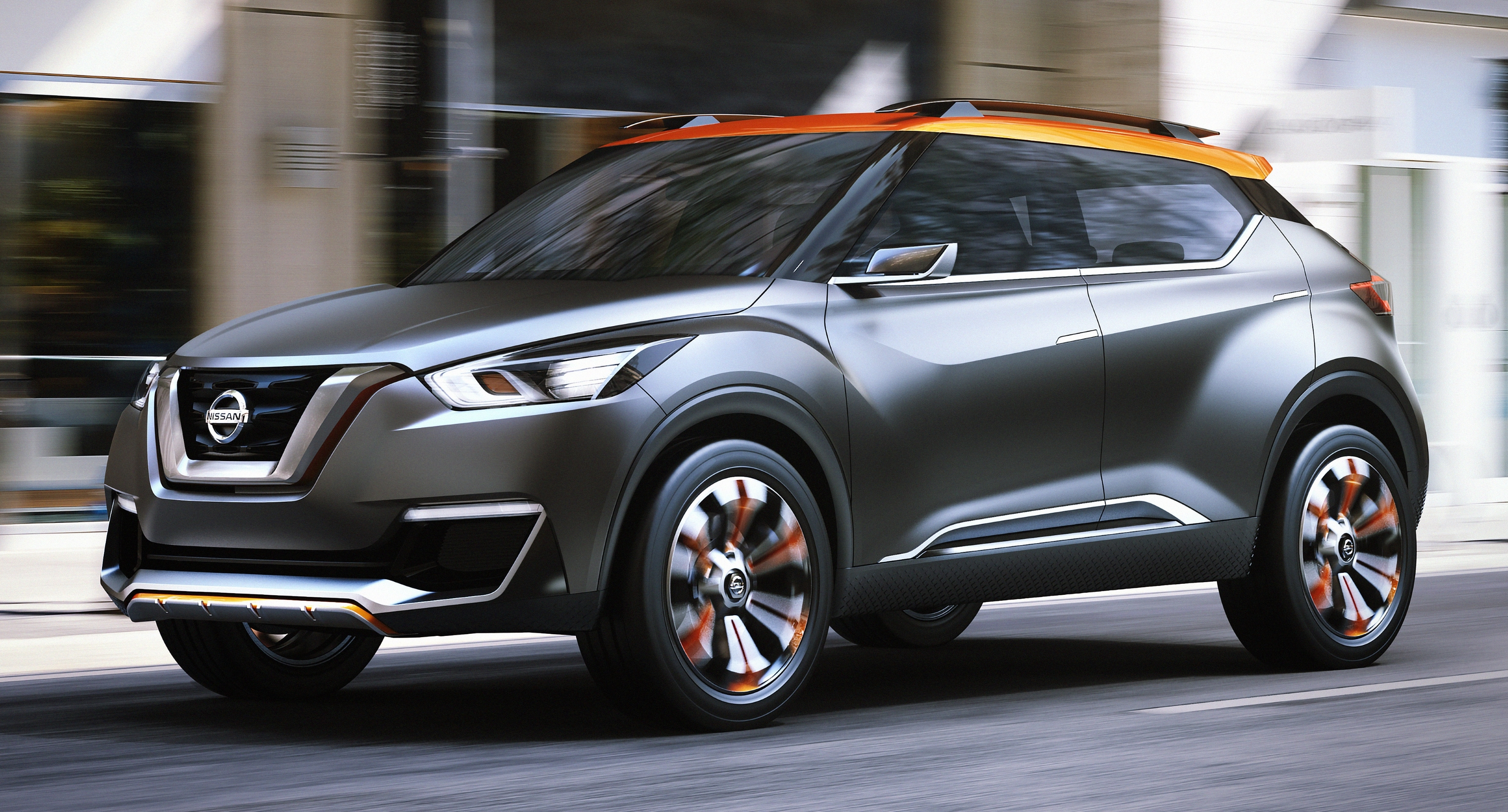 Nissan Kicks - new global crossover to debut this year