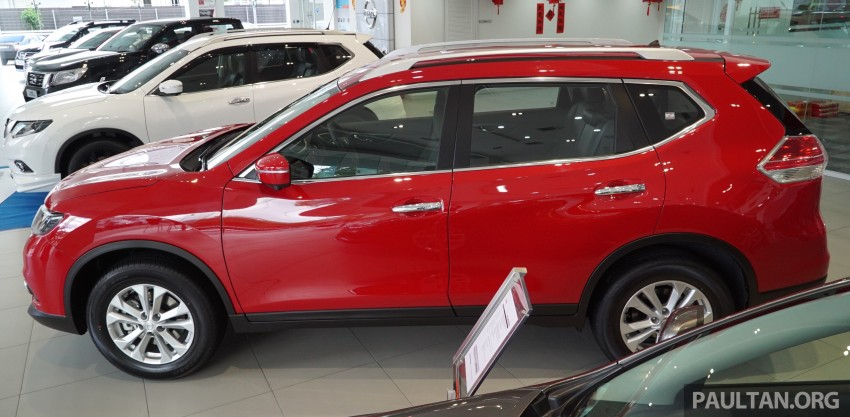 Nissan X-Trail – now available in Flaming Red for CNY Image #432832