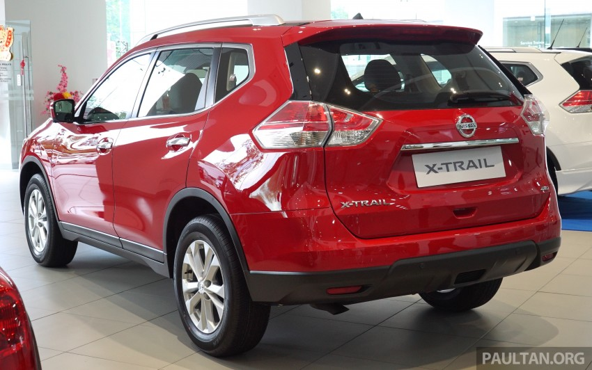 Nissan X-Trail – now available in Flaming Red for CNY Image #432834