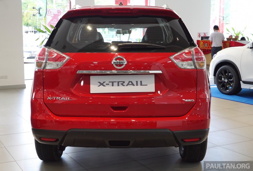 Nissan X-Trail – now available in Flaming Red for CNY Image #432835